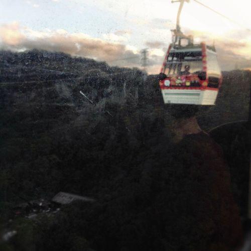 Maokonggondola Mountains Through The Window Taipei Taiwan Showcase: February