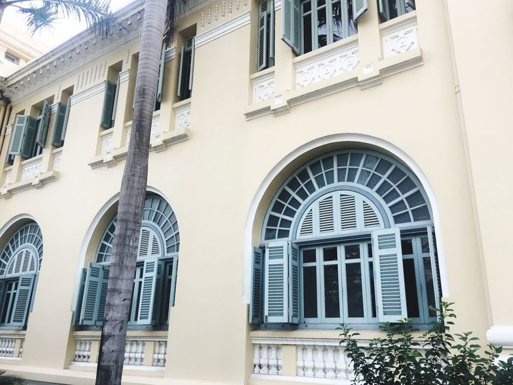 Some architecture in Ho Chi Minh City Building Exterior Window Architecture Built Structure Building Vietnam Ho Chi Minh City Architecture_collection Great Design