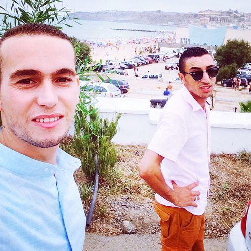 Rechgoun Beach Summer2015 Selfie ✌ Sun Beni Saf Algeria EyeEm Best Shots EyeEm Beachphotography me & adel Cataloné ❤️