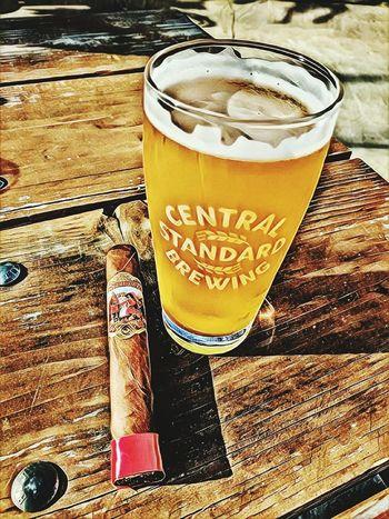 Beautiful evening! Cigars Craftbeer