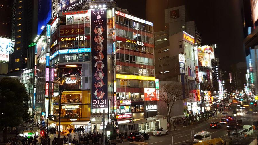 city lights of Tokyo Tokyo,Japan City Lights Of Tokyo Illuminated Night Neon Incidental People Travel Destinations Advertisement Outdoors