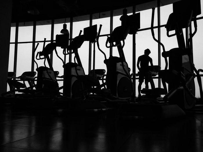 Workout alone