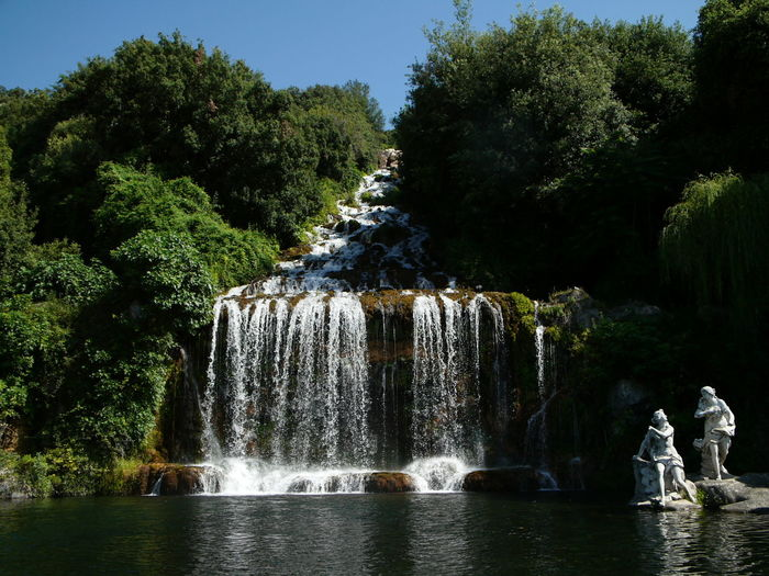 Classic Beauty In Nature Beuty Of Nature Nature Photography Reggia Di Caserta Scenics Style Water Waterfall