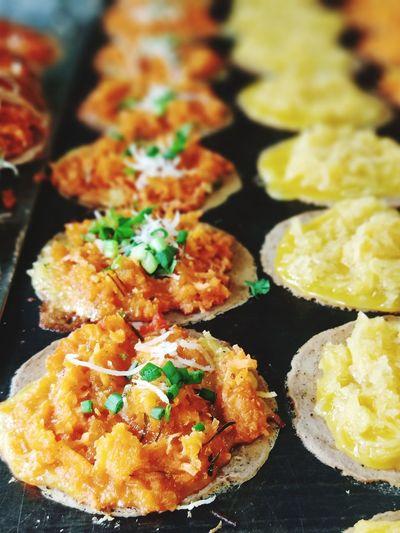 ขนมเบื้อง Bangkok Bangkok Food Food In Bangkok Snack Time Desert Foodie Appetizer Savory Food Italian Food Close-up Food And Drink