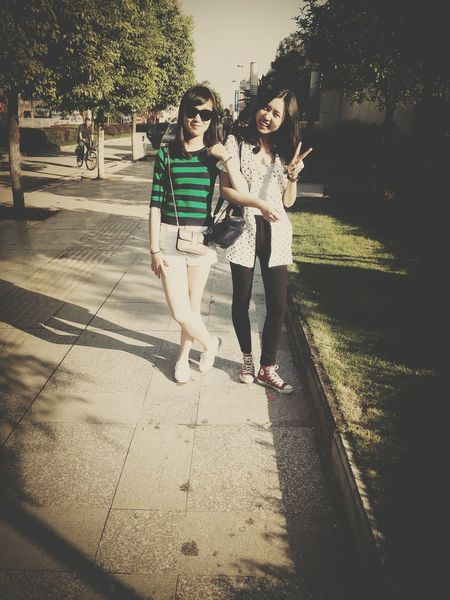 With Sister Lovely Happy Holiday♡