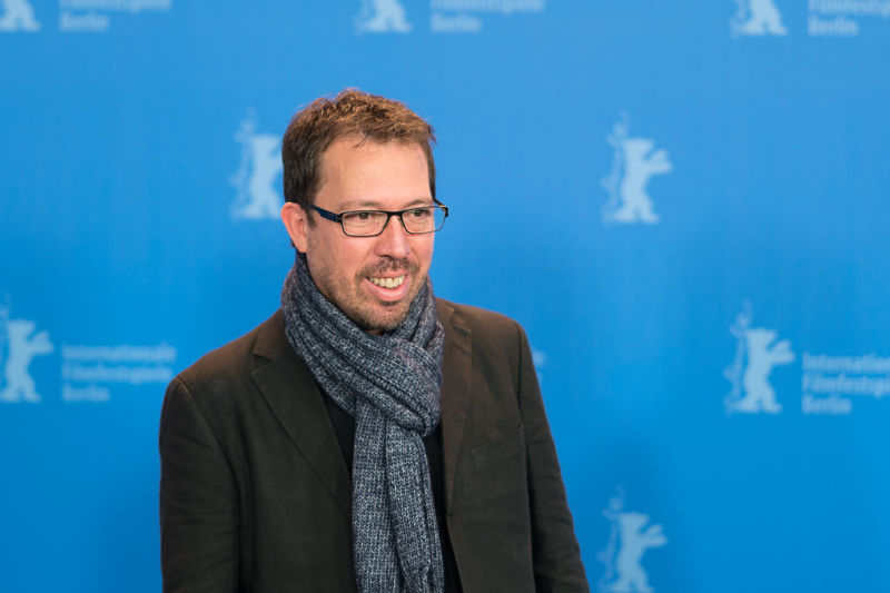 Berlin, Germany - February 16, 2018: Director and screenwriter Marcelo Martinessi poses before the press conference to present the film 'The Heiresses' (Las Herederas) during the 68th Berlinale Actor Fame Famous Film Festival Actress Adult Arts Arts Culture And Entertainment Berlinale Berlinale 2018 Berlinale2018 Cinema Entertainment Entertainment Event Film Industry Front View Mid Adult Men One Person Portrait Press Conference Red Carpet Event Smiling Standing Star Young Adult
