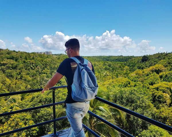 Salvador Bahia Nature One Man Only Beauty In Nature Sky