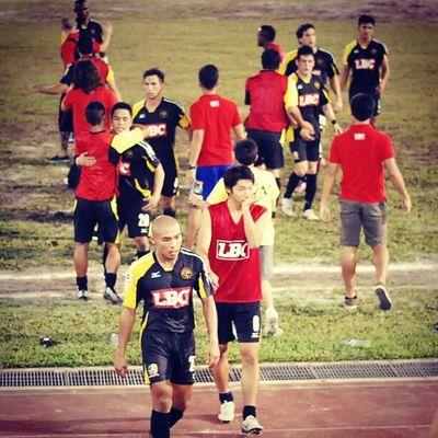 Kaya FC vs Global FC semis back in November. Football KayaFC GlobalFC Unitedfootballleague football Philippines