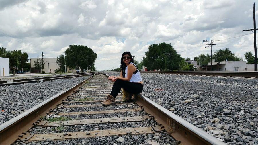 Enjoying Life Estación Catorce Train Station