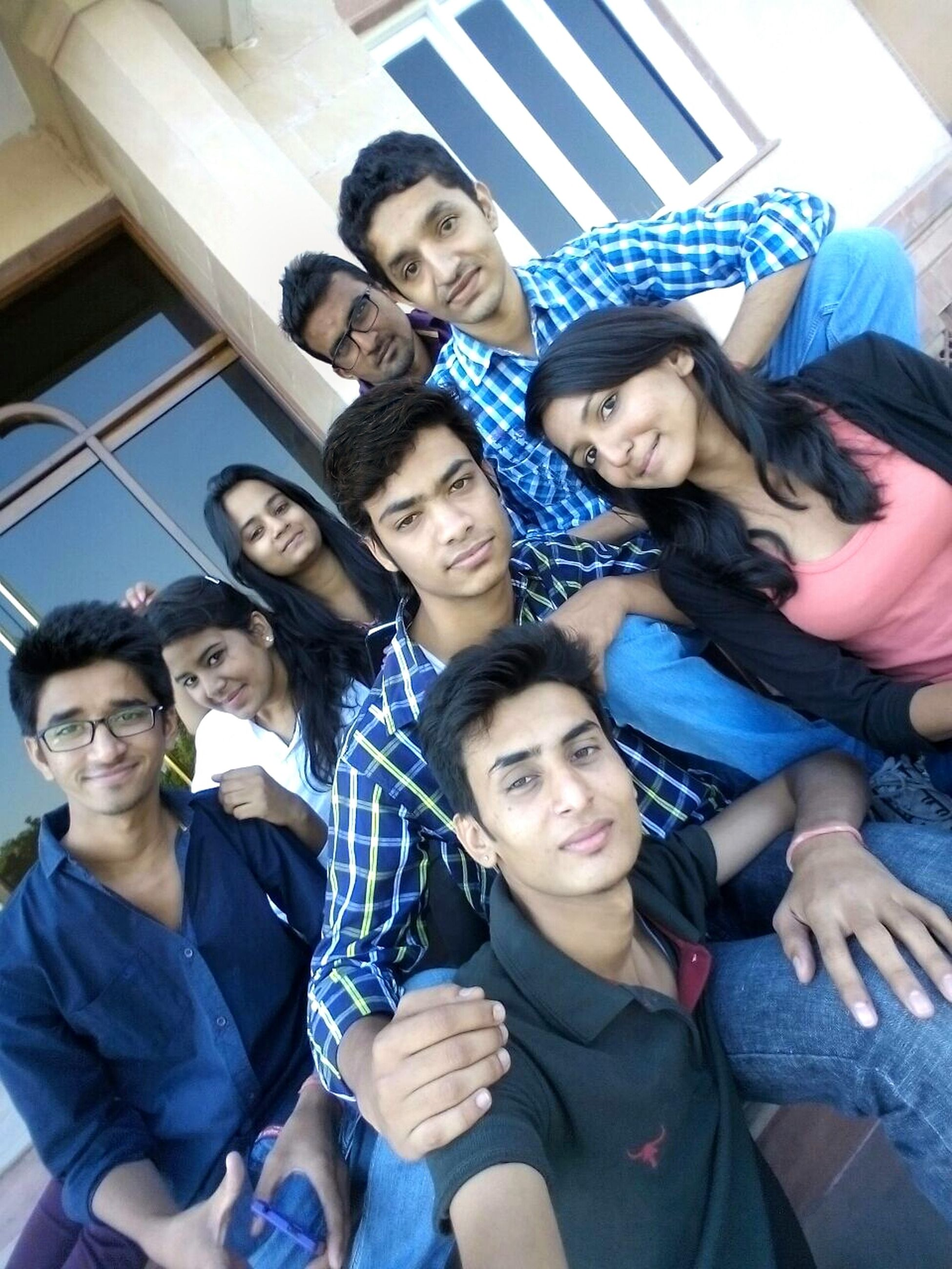togetherness, lifestyles, bonding, person, leisure activity, happiness, love, portrait, smiling, friendship, looking at camera, young adult, young men, casual clothing, family, front view, enjoyment, fun