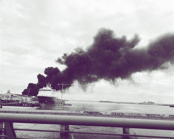 I see fire - Ed Sheran. Black And White Bridge Old