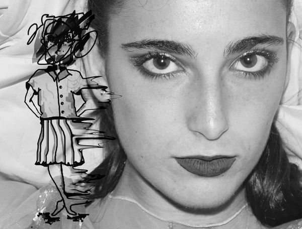 Cathy dibus BW Art Beautiful People Beautiful Woman Beauty Black And White Close-up Digital Art Digital Art. Expressing Myself. Creativity. Distort Art Expression Eyebrow Fashion Model Human Eye Human Face Indoors  Looking At Camera One Person One Woman Only One Young Woman Only Only Women Person Portrait Real People Studio Shot Young Adult Young Women