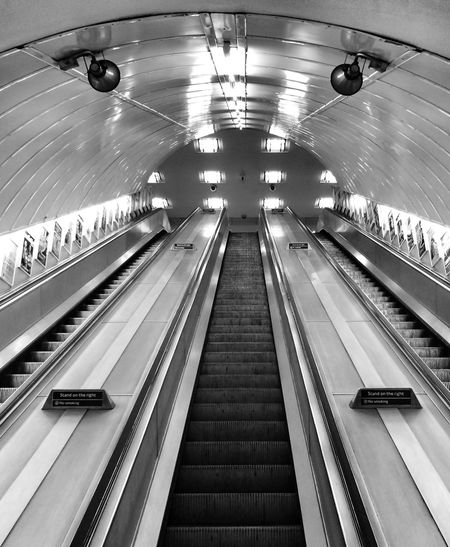 Escalator Killtheunderground Notes From The Underground EyeEm Best Shots IPhoneography