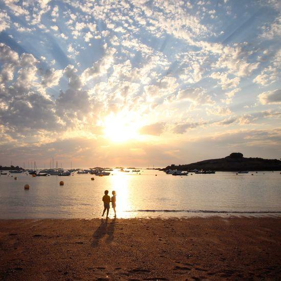 Sunset Sunset_collection Couple Ocean Sea Beachphotography Beach