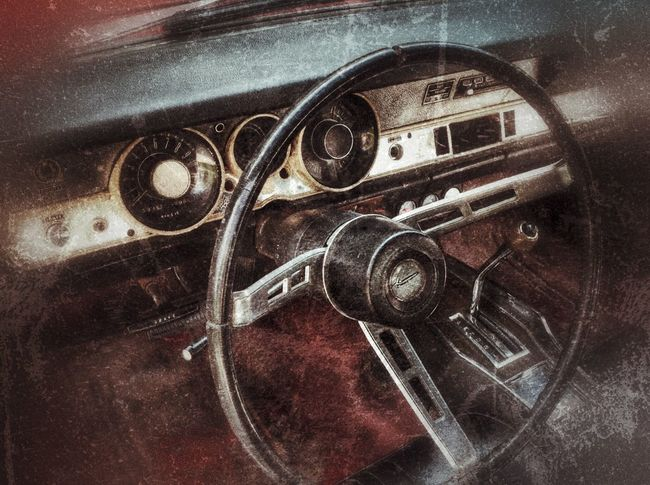 Restoration Project Metal Old-fashioned No People Retro Styled Close-up Gear Vehicle Part Technology Steering Wheel Barracuda Car Classic Car Restoration Project Storiesbydebbie Mopar EyeEmNewHere