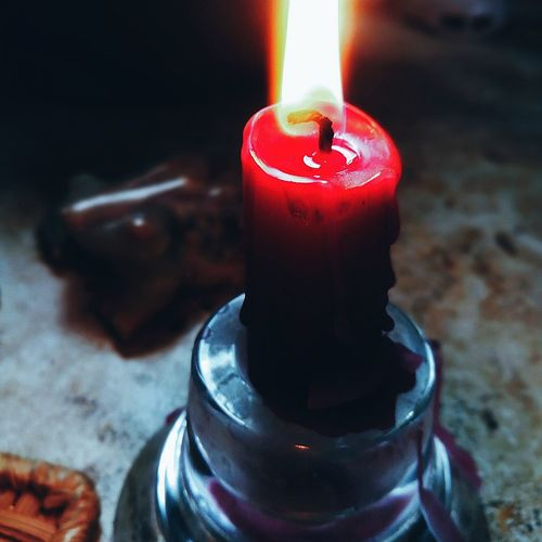 пламя свеча огонь Flame Candle Burning Heat - Temperature Red Indoors  Close-up