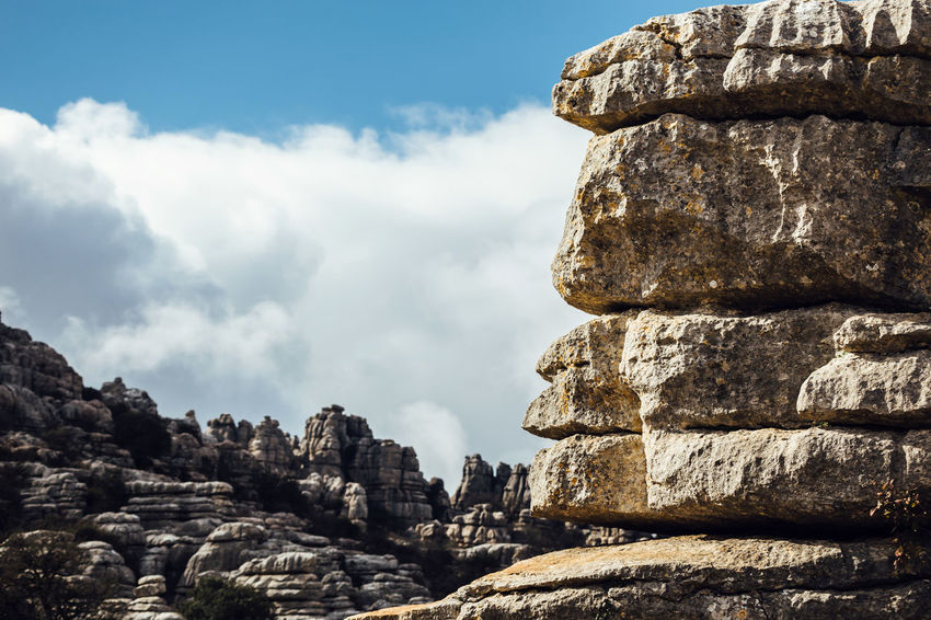 Torcal de Antequera Ancient Andalusia Famous Place Mountain Natural Sculpture Nature Nature Outdoors Rock - Object Rock Formation Sculpture Sierra Del Torcal Sky Stone The Great Outdoors - 2016 EyeEm Awards The Great Outdoors With Adobe Torcal De Antequera Tourism Tranquility Travel Travel Destinations