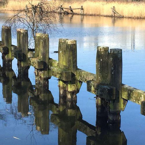 Showcase: March 2016 Sluice Dieren Riverside Ijssel Netherlands Sunny Day