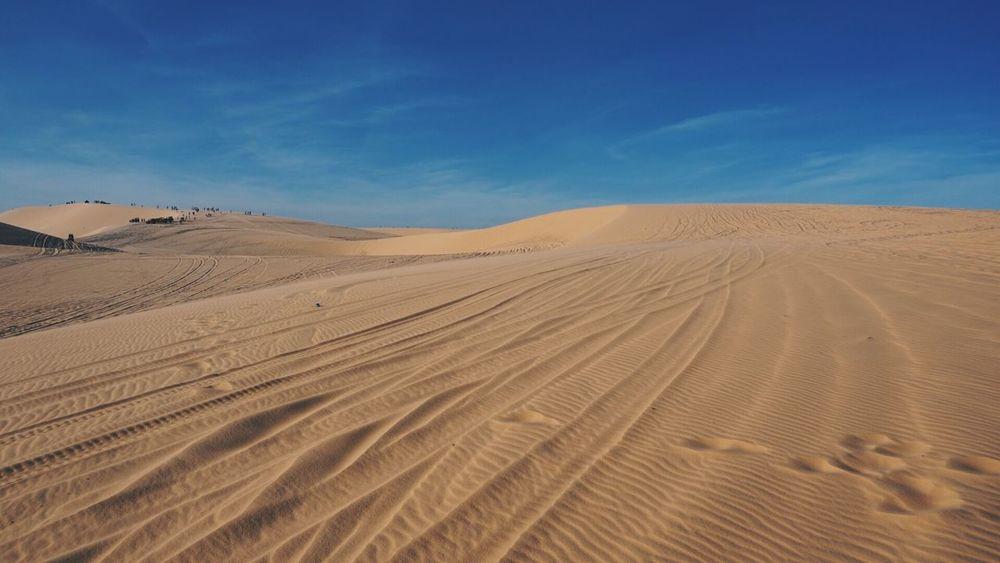 Whitesand Maine South Vietnam Land Sand Landscape Sky Desert Scenics - Nature Environment