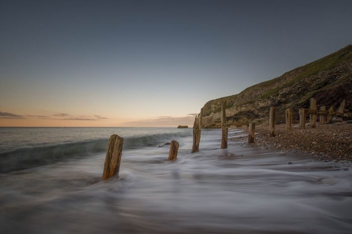 Sunset Chemical Beach Seaham Long Exposure Posts Sea And Sky Seascape Seascape Photography Beachphotography Beach Sunset Nikonphotography Nikonphotographer Nikon Sigma 10-20mm