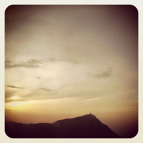 Cerro Avila Picaho Sunset Sky
