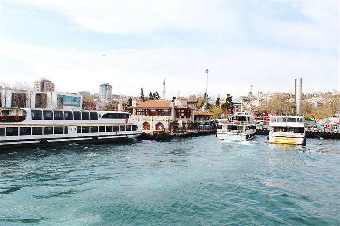 👑🎈 Relaxing Sea Beşiktaş Sahil Vapur Iskelesi Istanbul Turkey Deniz Mavi Manzara