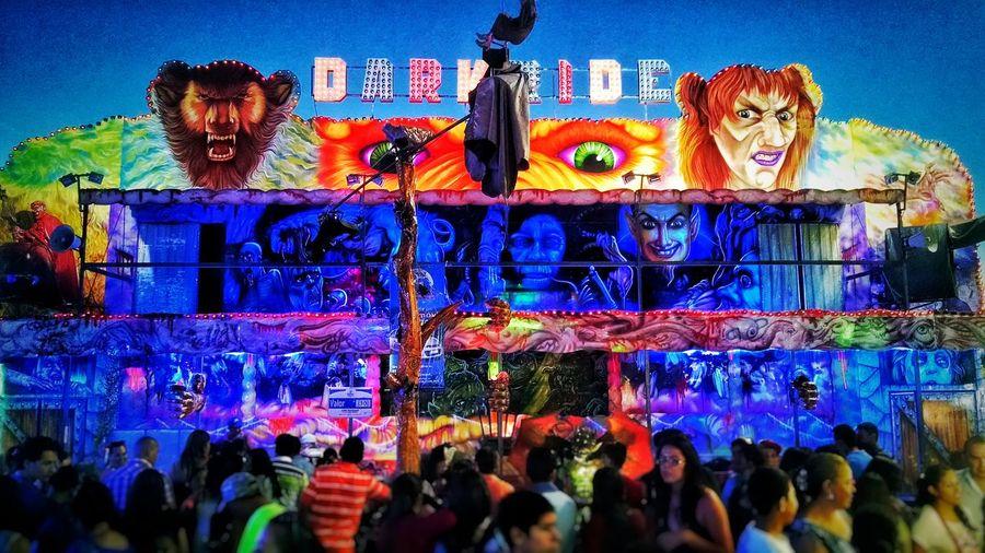 """""""Dark Ride"""" Aguascalientes Mexico Fnsm2016 Feriadesanmarcos Feria"""