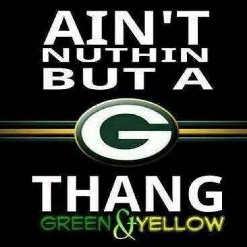 PACKATTACK BLEEDGREENANDYELLOW PACKERSFAITHFUL GoPackGo ALL DAY EVERYDAY YAAASSSS