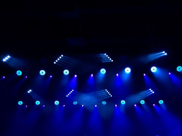 Lights In The Dark Night Lights Eye4photography  EyeEm Best Shots EyeEm Gallery Concert Music Illuminated Blue Arts Culture And Entertainment Light - Natural Phenomenon Indoors  Lighting Equipment Light Technology No People Night Performance Nightlife Glowing Enjoyment Dark Stage - Performance Space Nightclub Electricity  Capture Tomorrow