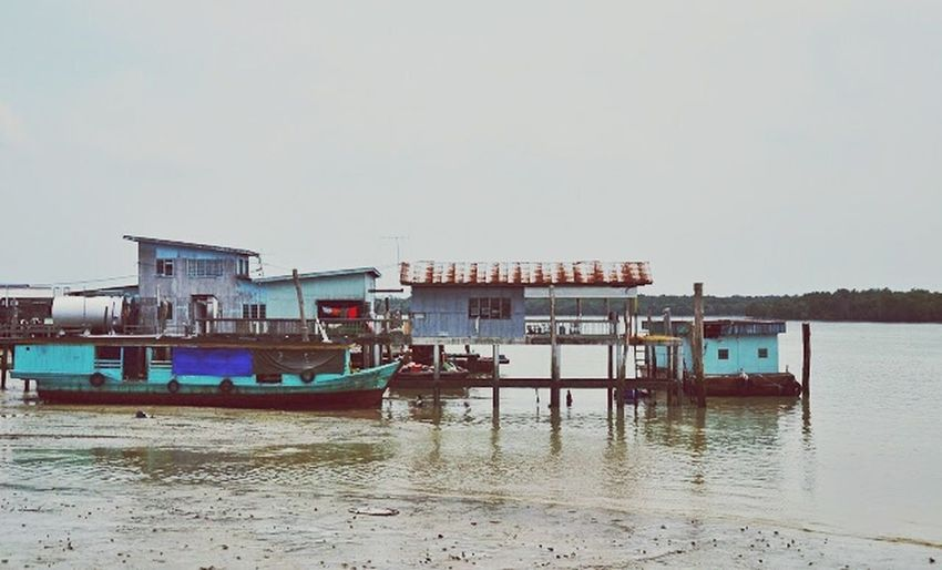 Seaside Beach Jetty Island Journey The Story Behind The Picture Lifestyle Photography Colour Portrait Edge Of The World at Pulau Ketam, Malaysia.