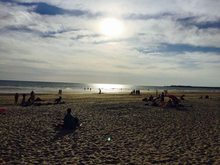 Beachphotography Chosen  By The Sun