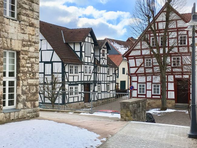 The medieval city of Korbach in Hessen Germany. Architecture Medieval Built Structure Building Exterior House No People Day