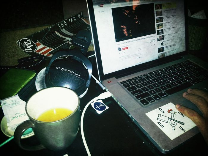 Hot Lemon Tea Hang Out Isengiseng Sambil Edit Clip