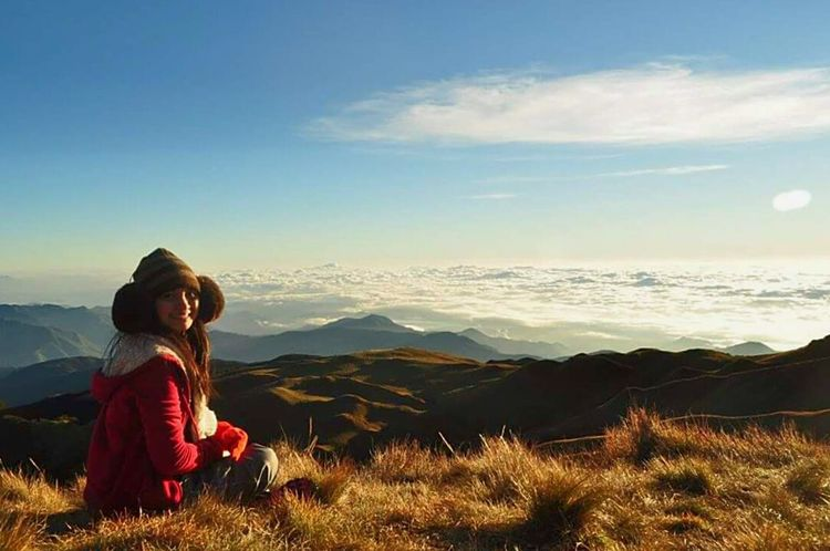 Sea of clouds at mt.pulag. Mt.pulag Bucketlist Nature Itsmorefuninthephilippines