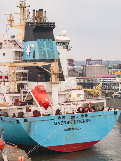 Port Of Dublin, Ireland. Celtic Tiger Dublin, Ireland Harbour Maersk Etienne Port Of Dublin Shipping Containers Travel City Day Fishing Boat Harbor Harbour Master Life Boat Mode Of Transportation Moored Nature Nautical Vessel No People Outdoors Pilot Pilot Boat Port Tourism Transportation Water