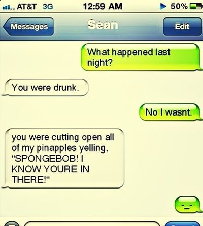 Funny Texts Drunk