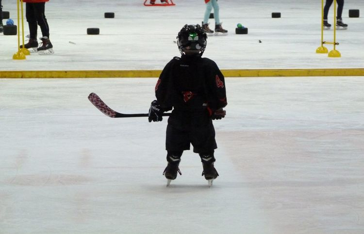 Snow Sports Ice Skate People Day Ice Hockey