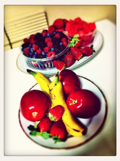 Fresh fruit for breakfast