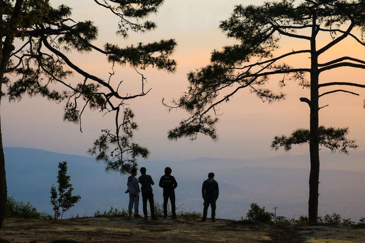 Photo taken in Phu Kradueng, Thailand