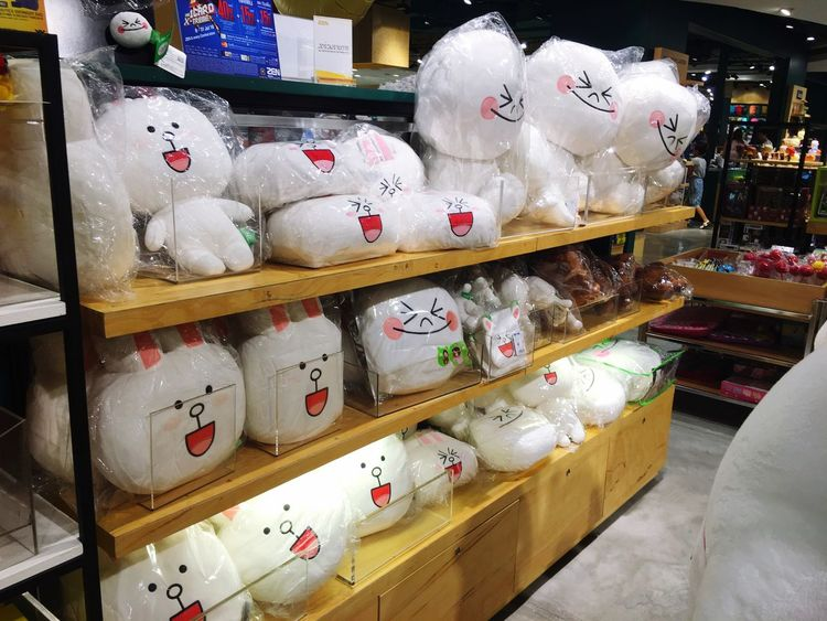 Cony and moon soo cute LINE Cony Moon Linefriends