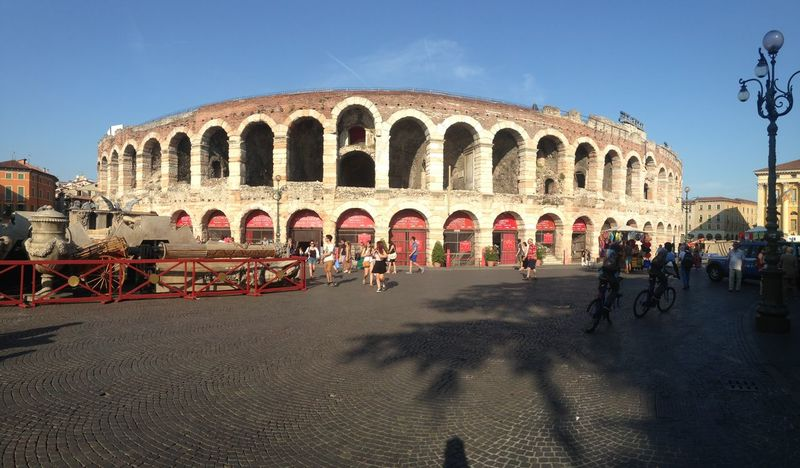 TakeoverContrast Arena Of Verona Old Buildings Coulture Italy Story Teather Girl With Two Helbows Ghost Bike Travel Destinations Travel Eyemphotos Hearth City Day City Life Outdoors Art Architecture Relaxation Take Photos Explore Summer