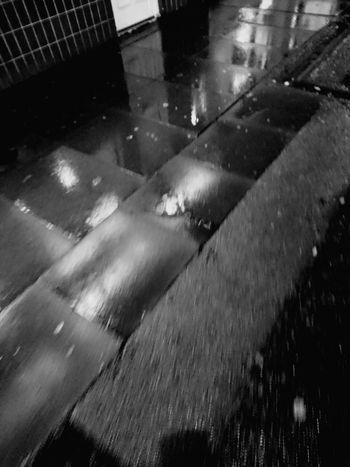 Blackandwhite Photography Black&white Wet Day Wet Wet Wet Footpath Dark Nights
