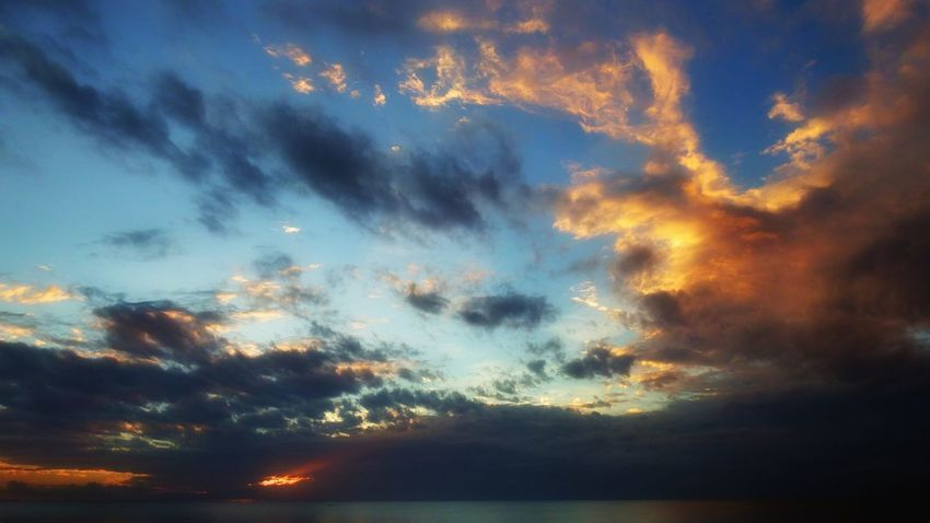 MAS ALLA Sunset Sky Dramatic Sky Beauty In Nature Scenics Cloud - Sky Nature Outdoors Day