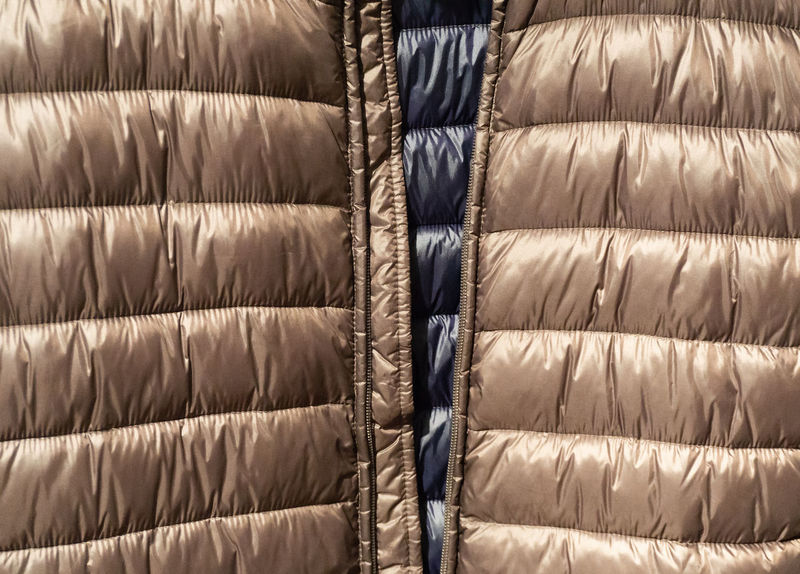 Texture and background of Down jackets fabric Autumn Autumn Jacket Fashion Geese Isolated Storm Textured  Thermally Insulated Accessories Backgrounds Composing Cut Out Down Down Feather Down Jacket Downy Feather Ducks Jacket Warm Waterproof Weatherproof