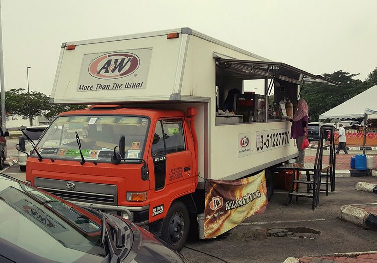 A&W Mobile Truck