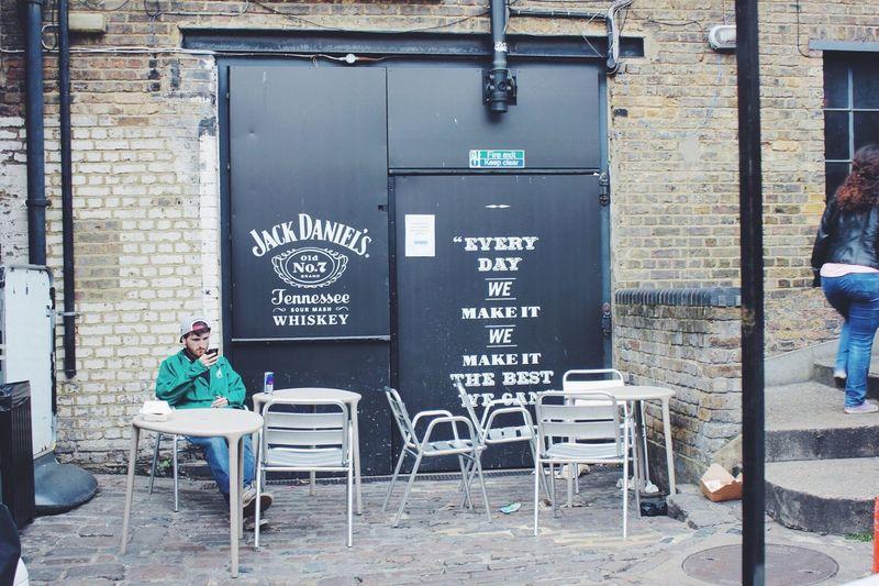 Camden Town London Jack Daniels Punk Unknown