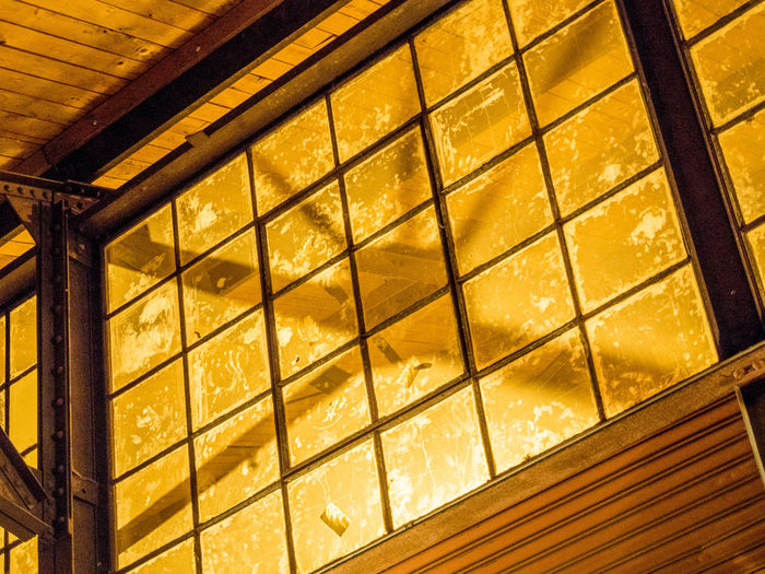 Shadows & Light Architecture Backgrounds Building Exterior Built Structure Close-up Day Illuminated Indoors  Low Angle View No People Pattern Shadows Shadows And Light Window Yellow