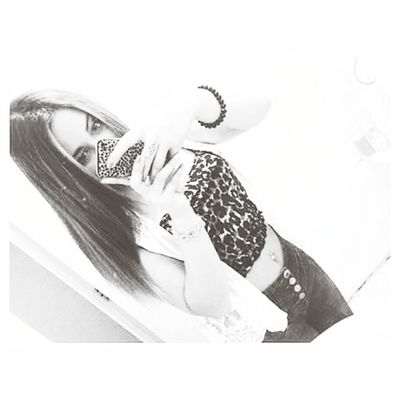 Blackandwhite Animalprint Selfie ✌