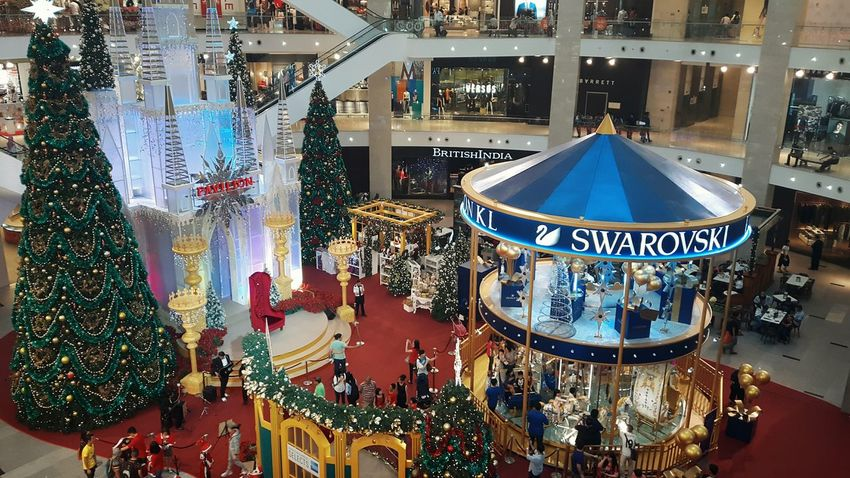Christmas EyeEm Gallery Christmas Decorations Swarovski Carousel Malaysia Kuala Lumpur Merrygoround