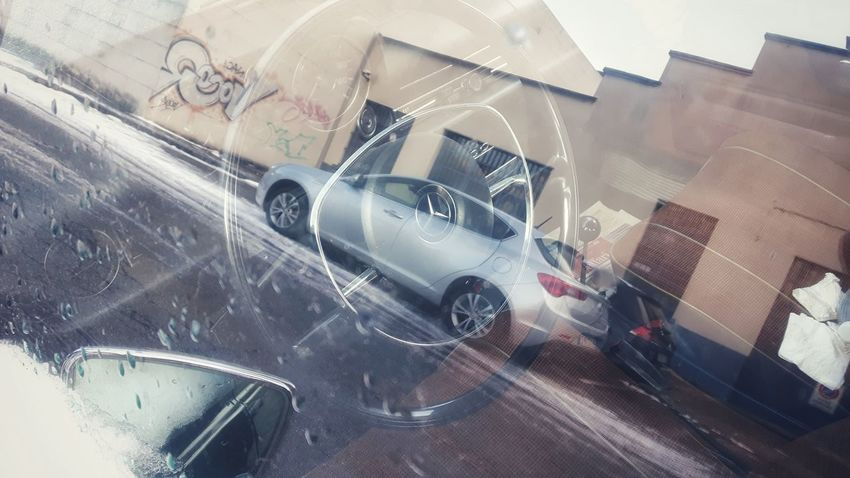 Street Photography Design Reflection Glass Car High Angle View Transportation No People Indoors  Day Close-up